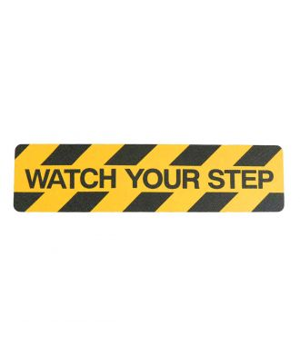 """Watch your step"" Anti-Rutsch Klebeband"